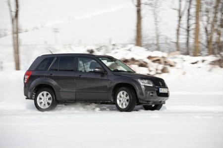 Suzuki Grand Vitara im Schnee-Einsatz, Foto: Suzuki