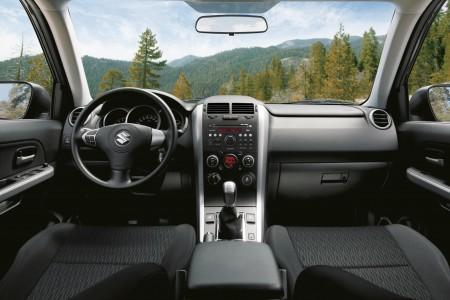 Suzuki Grand Vitara Innenraum-Alternative mit Stoffsitzen, Foto: Suzuki