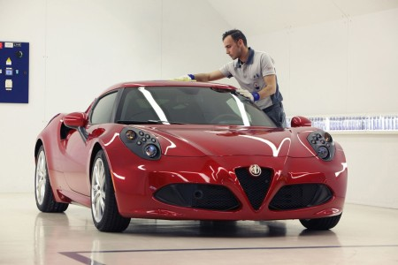 Alfa Romeo 4C Produktion Modena, Foto: Alfa Romeo
