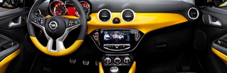 Opel Adam Interieur, Foto: Opel