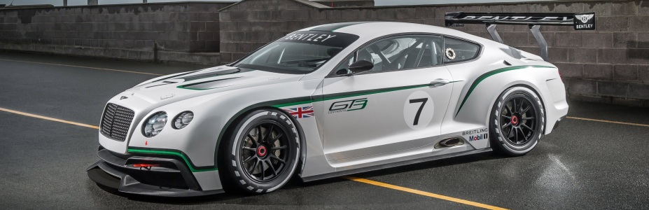 Bentley Continental GT3, Foto: Bentley