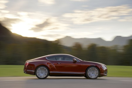 Bentley Continental GT Speed Coupé, Foto: Bentley
