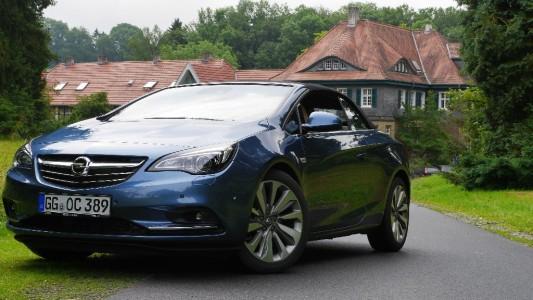 Opel Cascada frontal, Foto: Autogefühl