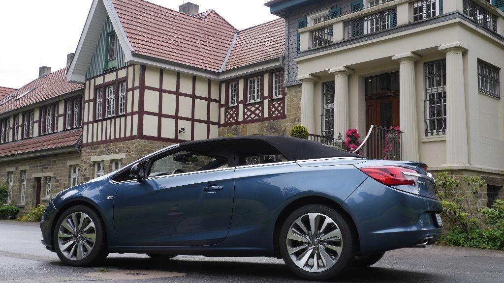 Opel Cascada seitlich, Foto: Autogefühl