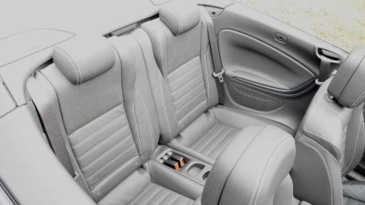 Opel Cascada Rücksitze, Foto: Autogefühl