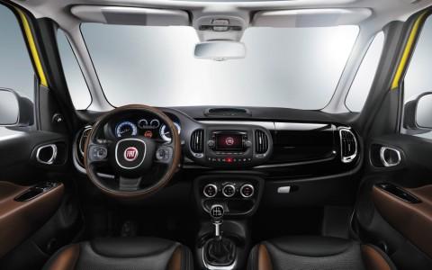 Fiat 500L Trekking Interieur, Foto: Fiat