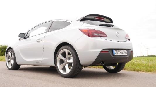 Opel Astra GTC, Lieblingsperspektive, Foto: Autogefühl