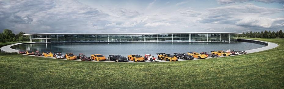 McLaren lineup an der Hauptzentrale, Foto: McLaren