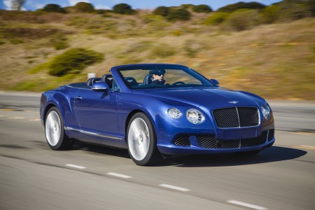 Bentley Continental GT Speed Cabriolet, Foto: Bentley