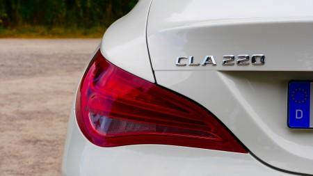 Mercedes CLA - Rücklichter