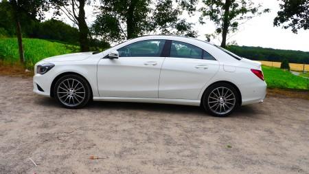 Mercedes CLA Exterieur