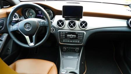 Innenraum Mercedes CLA