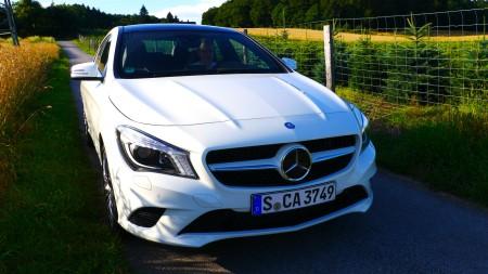 Mercedes CLA 220 CDI, Foto: Autogefühl