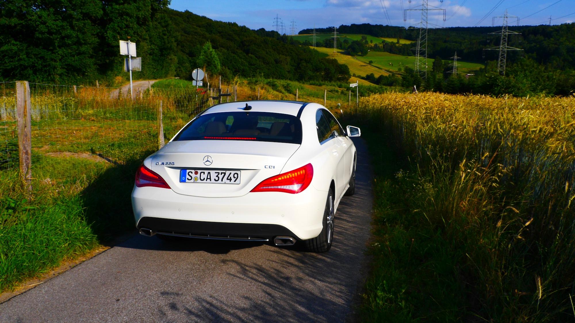 Mercedes CLA Heck
