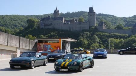 Start unterhalb der Burg Altena, Foto: Autegefühl