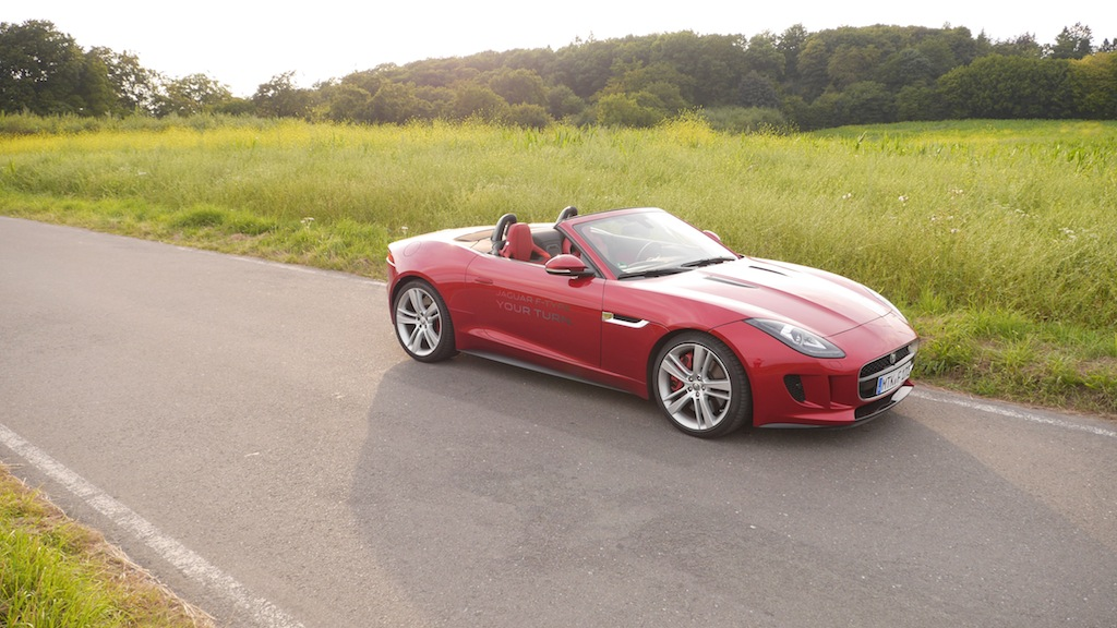 Jaguar F-TYPE V8S, Foto: Autogefühl