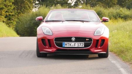 Jaguar F-TYPE V8S vorne, Foto: Autogefühl