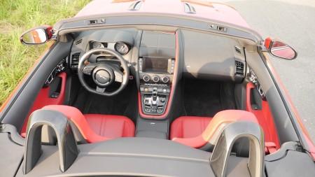 Jaguar F-TYPE V8S Interieur, Foto: Autogefühl