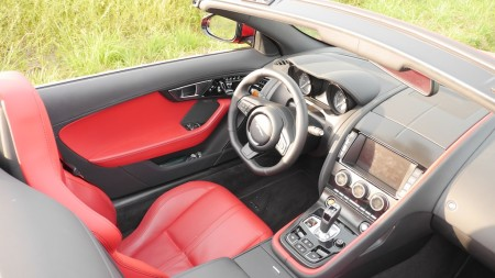 Jaguar F-TYPE V8S Interieur, Foto: Autogefühl