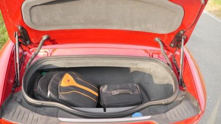 Jaguar F-TYPE V8S Kofferraum, Foto: Autogefühl