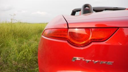 Jaguar F-TYPE V8S Rückleuchten, Foto: Autogefühl