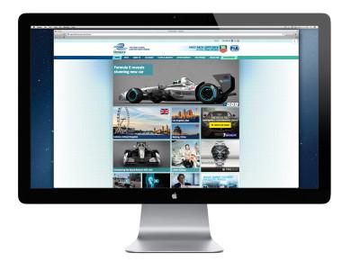 Formula E Website, Foto: Formula E