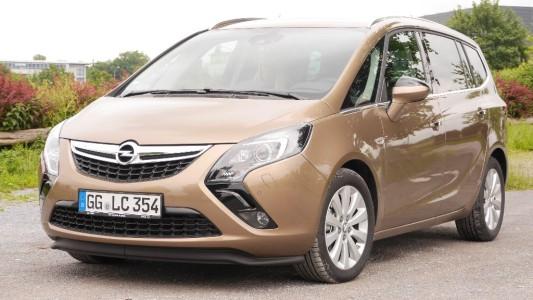 Opel Zafira Tourer front, Foto: Autogefühl