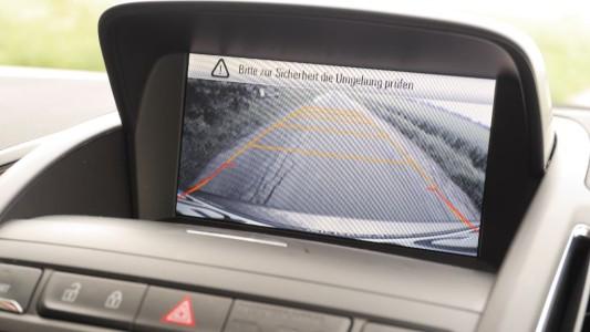 Opel Zafira Tourer Rückfahrkamera, Foto: Autogefühl