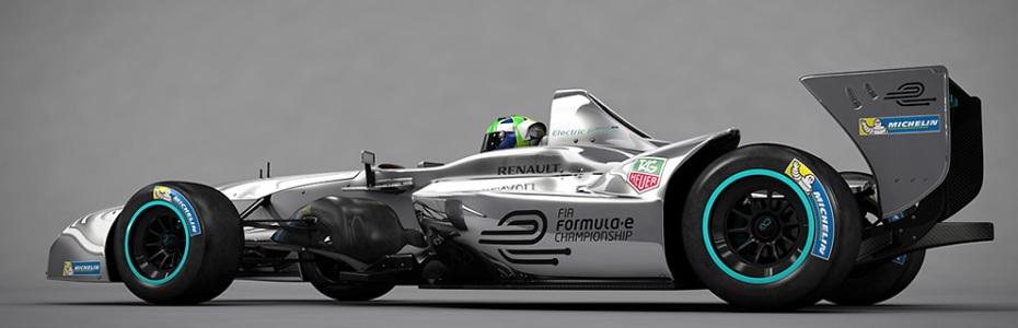 Das neue Formula E Auto, Foto: Formula E