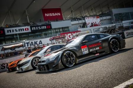 Nissan GT-R in der Super GT, GT500 Serie, Foto: Super GT