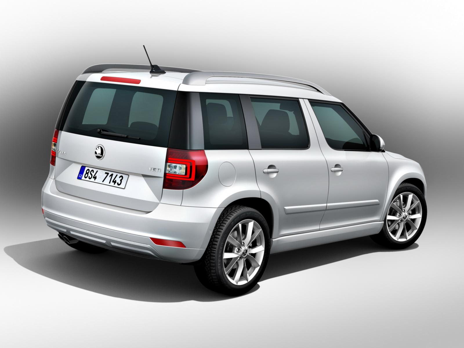 skoda yeti facelift mit zwei designlinien autogef hl. Black Bedroom Furniture Sets. Home Design Ideas
