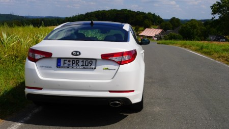KIA Optima Heck, Foto: Autogefühl