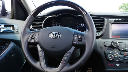 KIA Optima Cockpit, Foto: Autogefühl