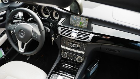 Mercedes CLS Shooting Brake Cockpit, Foto: Autogefühl