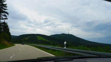 Mit dem Mercedes CLS auf der Schwarzwaldhochstraße, Foto: Autogefühl