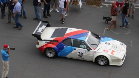 BMW M1 beim Oldtimer Grand Prix, Foto: Autogefühl