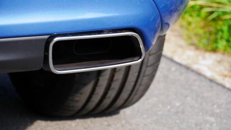 Volvo V60 Diesel Auspuff-Styling, Foto: Autogefühl