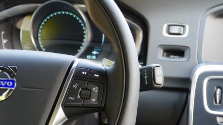 Volvo V60 Interieur Bedienelemente, Foto: Autogefühl