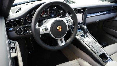 Porsche 911 Turbo S Innenraum, Foto: Autogefühl
