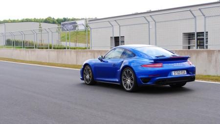 Porsche 911 Turbo S auf dem Bilster Berg, Foto: Autogefühl