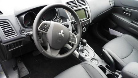 Mitsubishi ASX Innenraum, Foto: Autogefühl