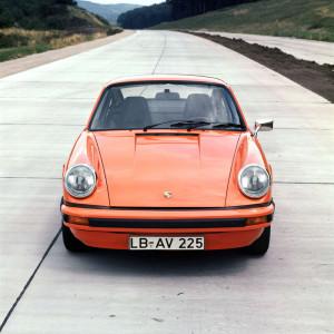 Das 911 Carrera 2,7 Coupé geht bei der Sachsen Classic an den Start, Foto: Porsche