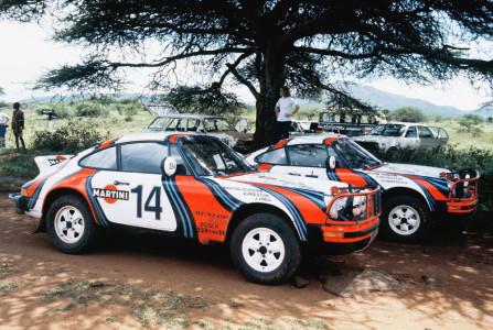 Das Porsche-Museum schickt unter anderem einen 911 SC Safari zur Schloss Bensberg Classic. Foto: Porsche