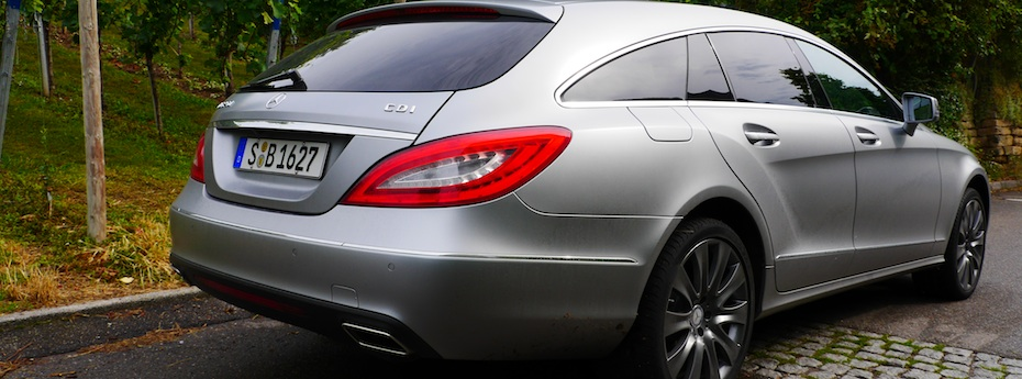 Mercedes CLS Shooting Brake, Foto: Autogefühl