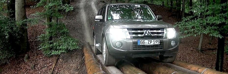 Mitsubishi Pajero offroad, Foto: Autogefühl
