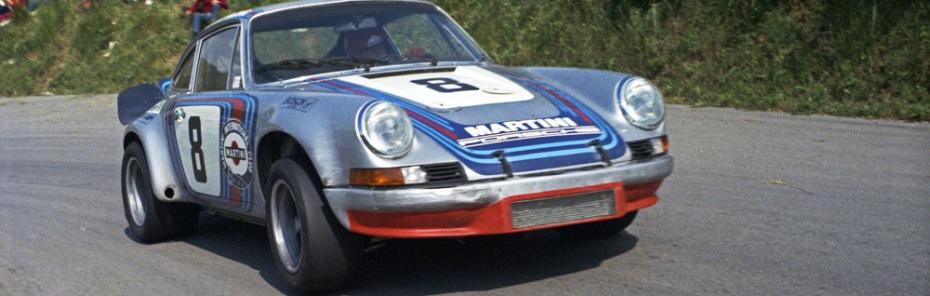 Gijs van Lennep gewann die Targa Florio 1973 gemeinsam mit Herbert Müller aus der Schweiz, Foto: Porsche