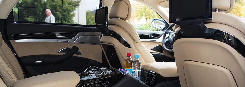 Audi A8L Innenraum, Foto: pureGLAM.tv