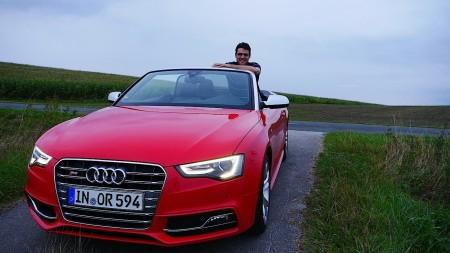Thomas Majchrzak (Autogefühl) mit dem Audi S5 Cabriolet, Foto: Autogefühl