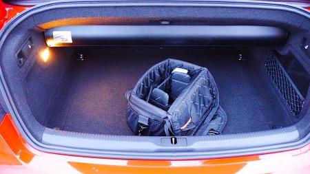 Audi S5 Cabriolet Kofferraum, Foto: Autogefuehl