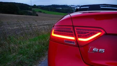 Audi S5 Cabriolet Rücklichter, Foto: Autogefühl